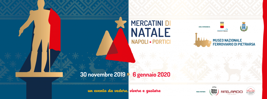 Mercatini di Natale 2019 al Museo Ferroviario di Pietrarsa