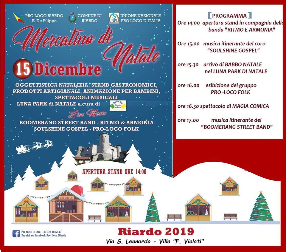 Mercatini di Natale a Riardo - 5° edizione