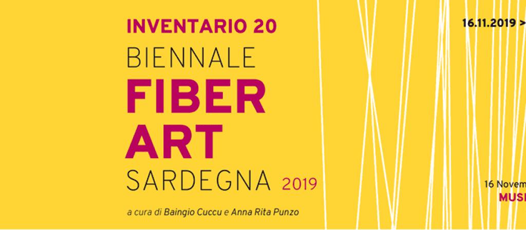 INVENTARIO 20 - Biennale della Fiber Art Sardegna