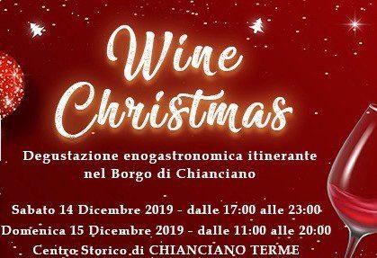 Wine Christmas - degustazione itinerante