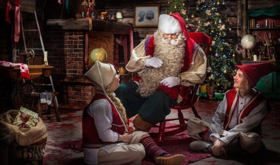 Babbo Natale nel Castello