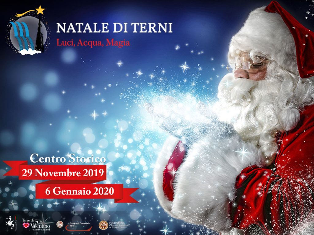 Natale di Terni - Luci, Acqua, Magia