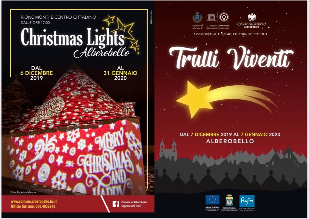 Trulli Viventi - Christmas Lights 2019