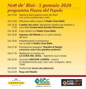 Nott de Bisò - edizione 2020