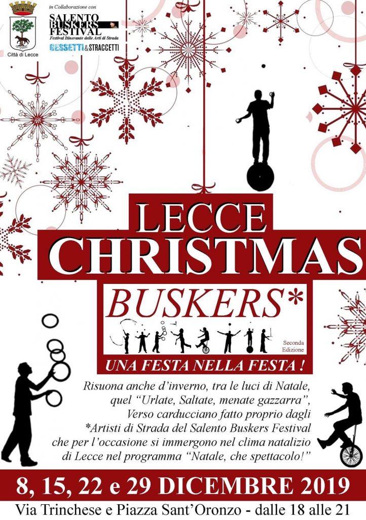 Lecce Christmas Buskers - 2° edizione