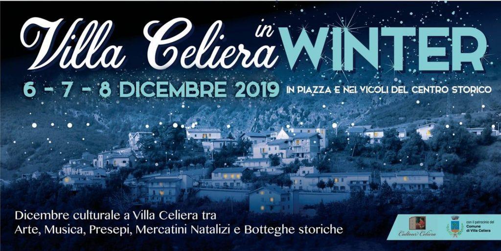 Villa Celiera in Winter 2019