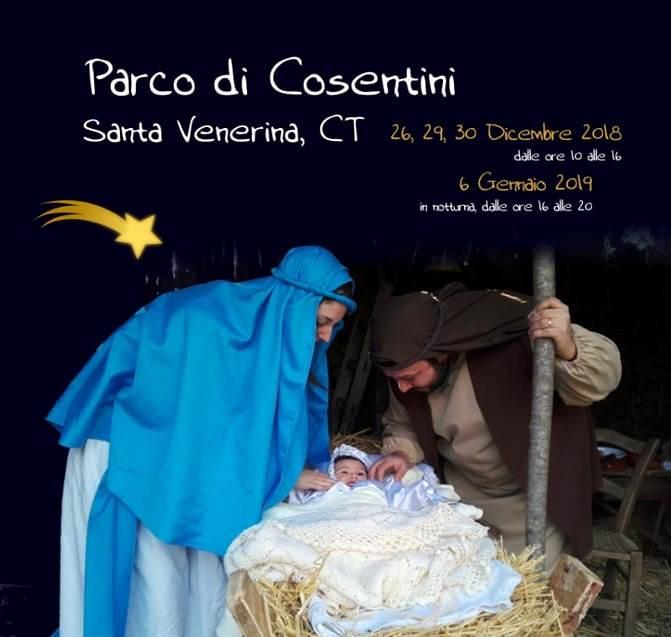 Presepe Vivente nell'Antico Bosco di Aci - 8° edizione