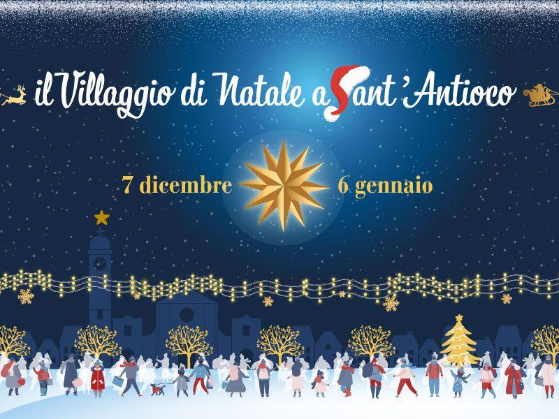 Il Villaggio di Natale 2019 a Sant'Antioco