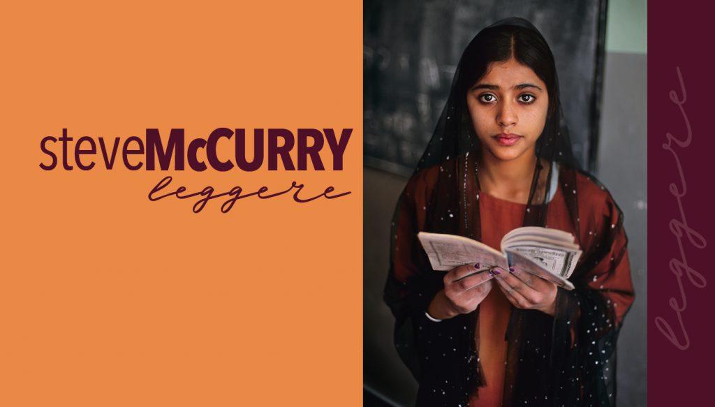 STEVE McCURRY. Leggere