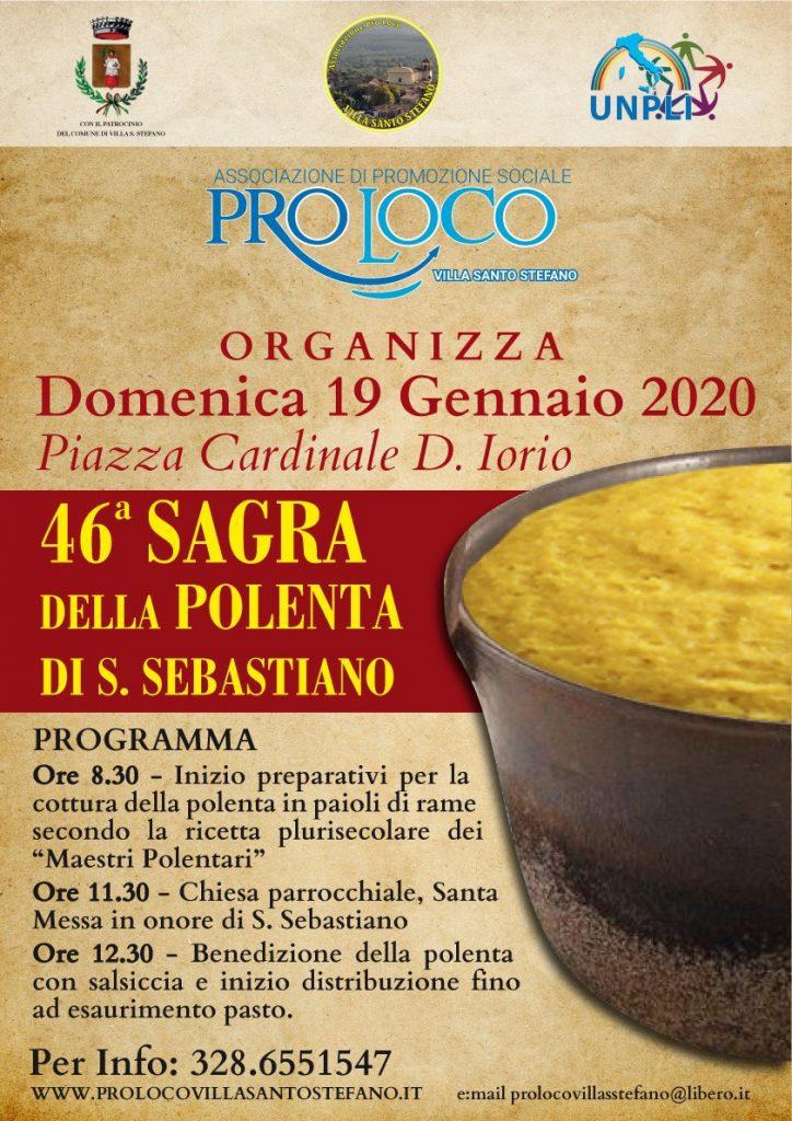 Sagra della Polenta di San Sebastiano - 46° edizione