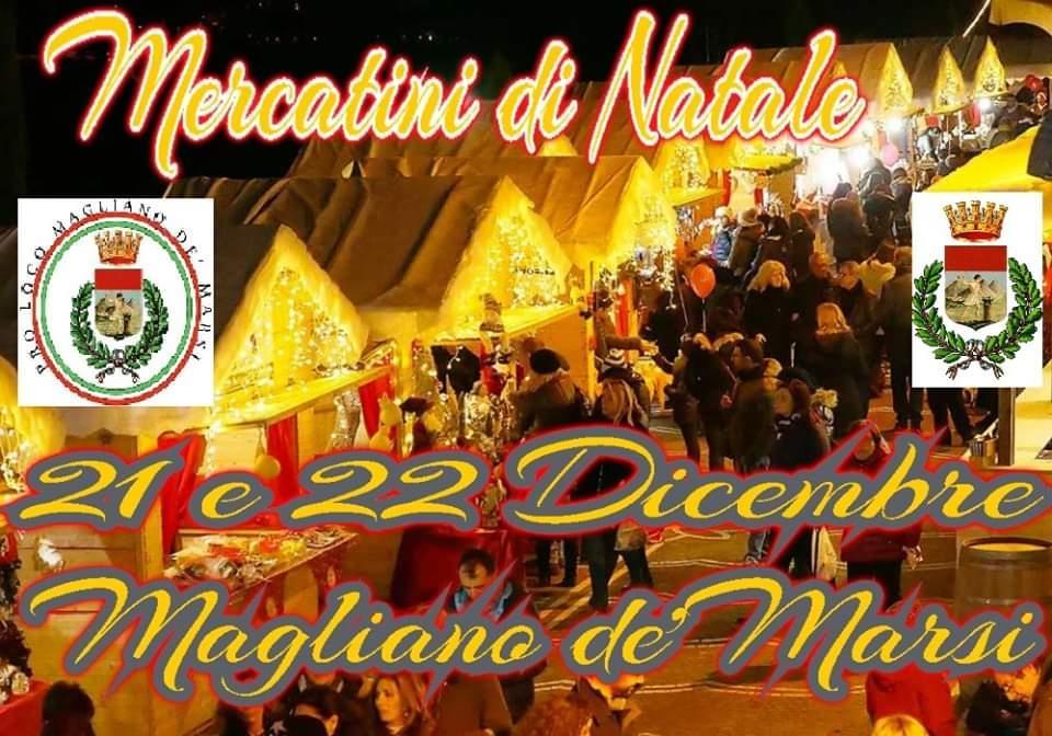 Mercatini di Natale a Magliano de' Marsi - 4° edizione