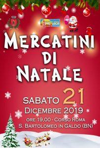 Mercatini di Natale 2019 a San Bartolomeo in Galdo