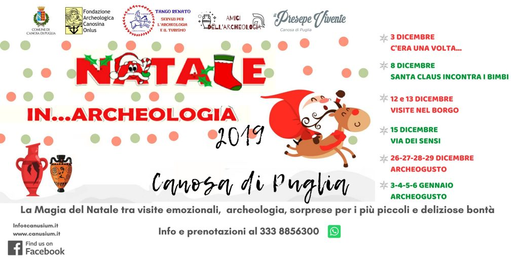 Natale in Archeologia 2019