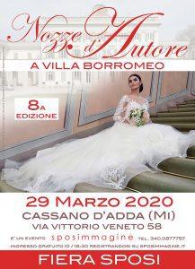 Nozze d'Autore a Villa Borromeo - 8° edizione