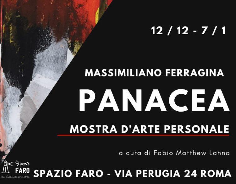 Panacea - personale di Massimiliano Ferragina