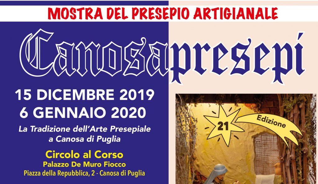 Mostra Presepio Artigianale CanosaPresepi - 21° edizione