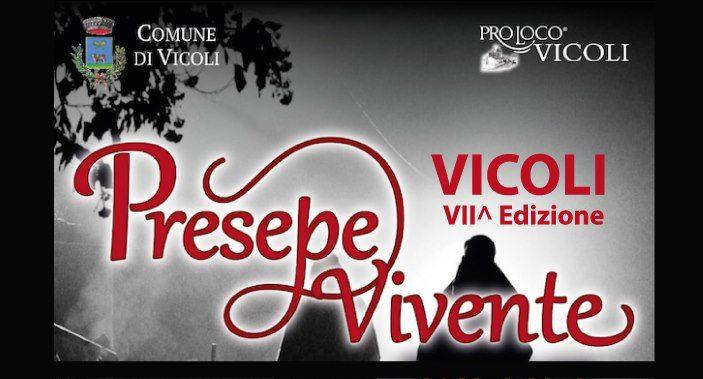 Presepe Vivente di Vicoli - 7° edizione