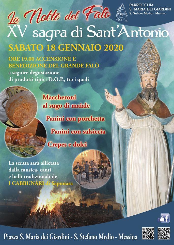 15° Sagra di Sant'Antonio - La Notte dei Falò