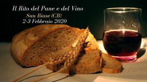 Il Rito del Pane e del Vino - edizione 2020