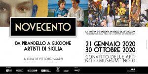 NOVECENTO. Artisti di Sicilia da Pirandello a Guccione