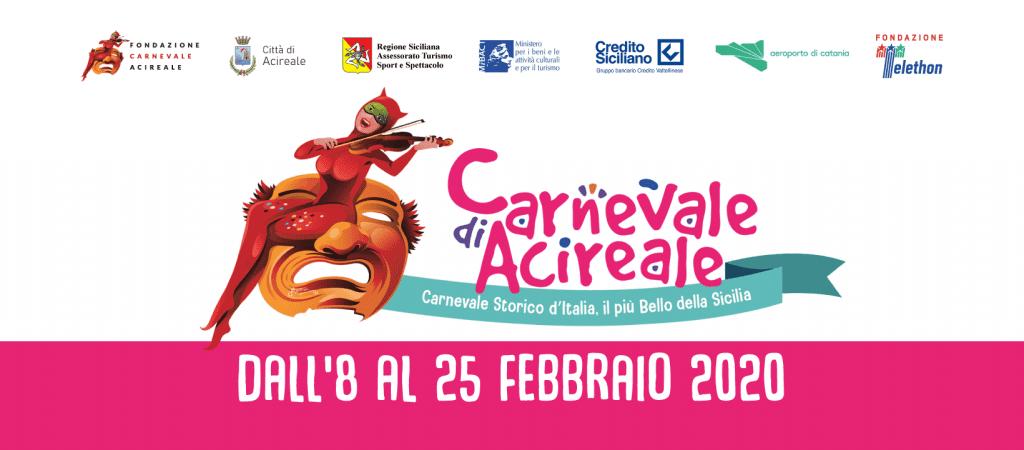 Carnevale di Acireale - edizione 2020