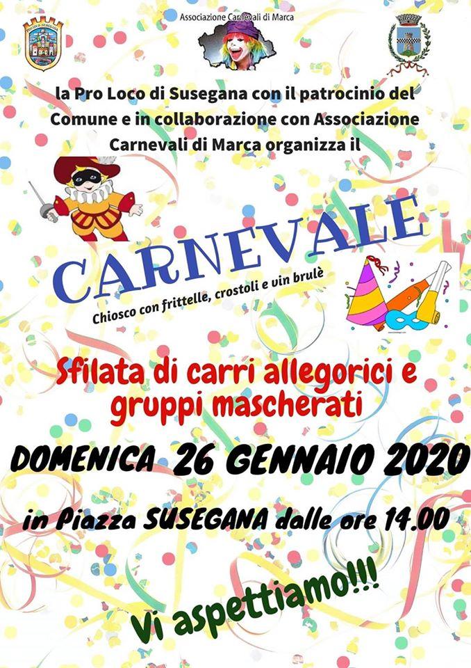 Carnevale a Susegana - edizione 2020