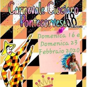 Carnevale Ciociaro Pontecorvese - 68° edizione