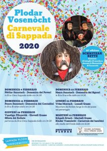 Plodar Vosenòcht - Carnevale di Sappada 2020