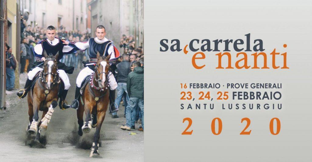 Sa Carrela'e Nanti - Carnevale di Santu Lussurgiu 2020