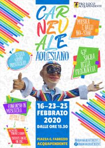 Carnevale Aquesiano - edizione 2020