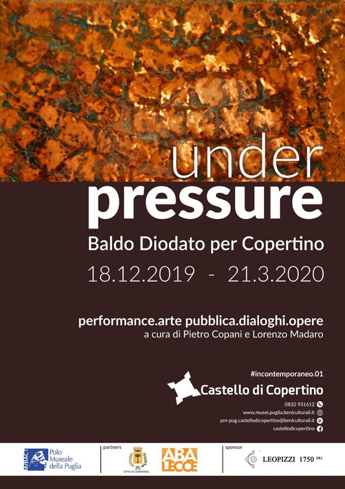 Under Pressure. Baldo Diodato per Copertino
