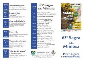 Sagra della Mimosa - 63° edizione