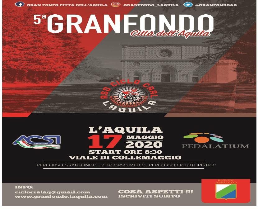 Gran Fondo Città dell'Aquila - 5° edizione