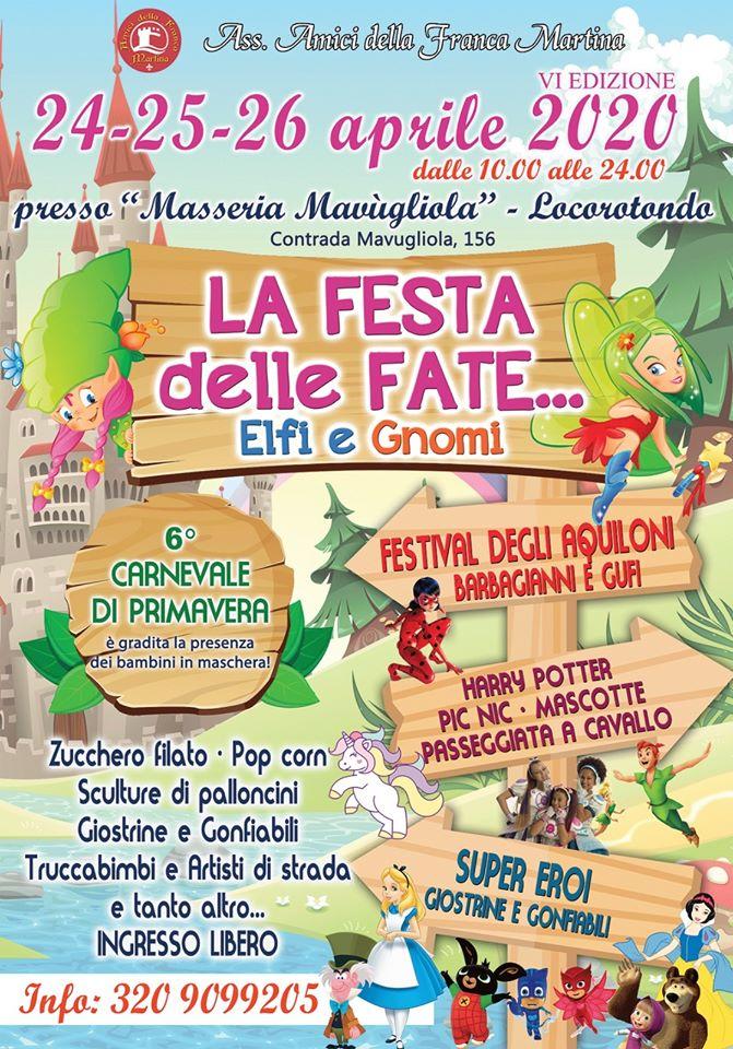 La Festa delle Fate, Elfi e Gnomi - 6° edizione