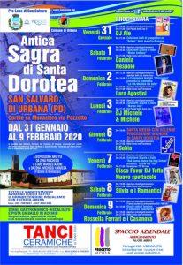 Antica Sagra di Santa Dorotea - edizione 2020
