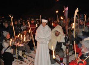 Leggenda della Dama Bianca - Carnevale di Cervinia 2020