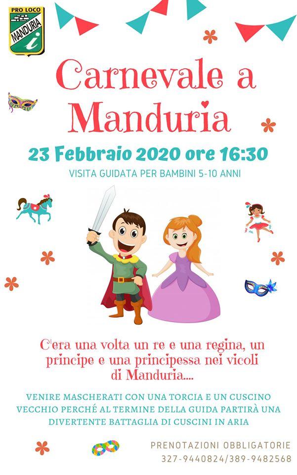 Carnevale a Manduria - edizione 2020