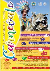 Gran Carnevale di Carmagnola - edizione 2020