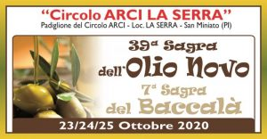 Sagra dell'Olio Novo e del Baccalà - edizione 2020