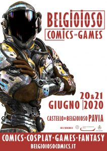 Belgioioso Comics and Games - edizione 2020