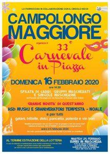Carnevale in Piazza - 33° edizione