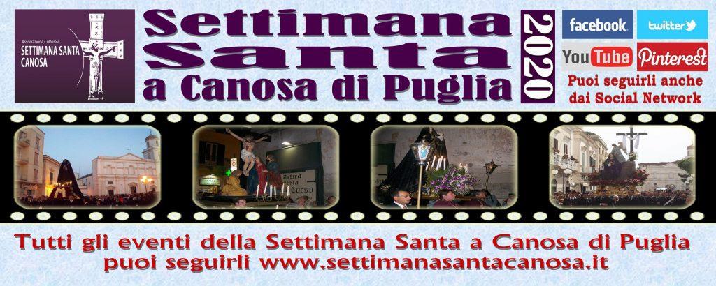 Settimana Santa di Canosa di Puglia - edizione 2020