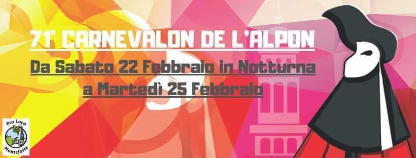 Carnevalon de l'Alpon - 71° edizione
