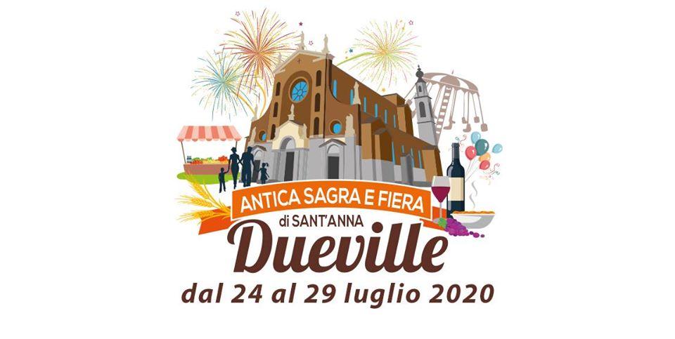 Antica Sagra e Fiera di Sant'Anna - edizione 2020