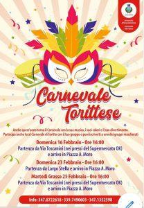 Carnervale Torittese - edizione 2020