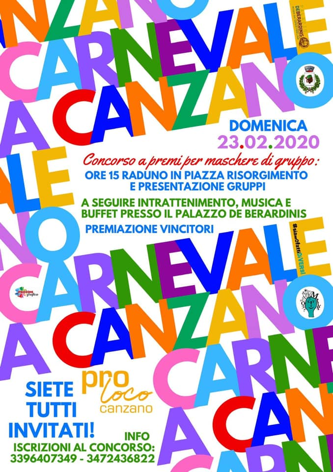 Carnevale a Canzano - edizione 2020