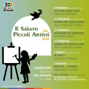 Il Sabato dei Piccoli Artisti - edizione 2020