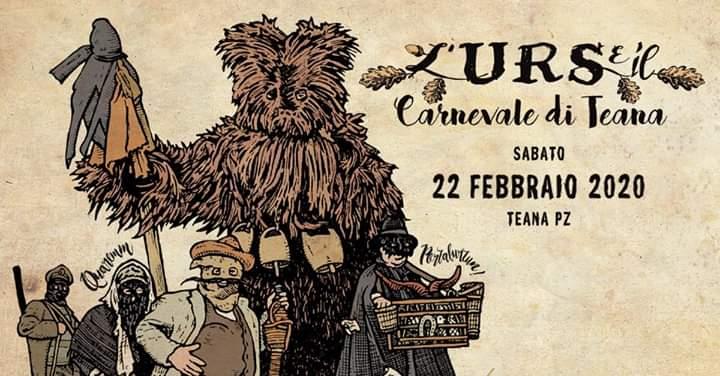 L'Urs e il Carnevale di Teana - edizione 2020