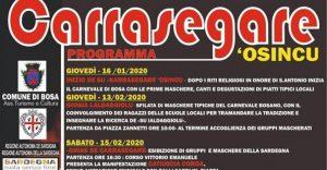 Carrasegare 'Osincu - edizione 2020