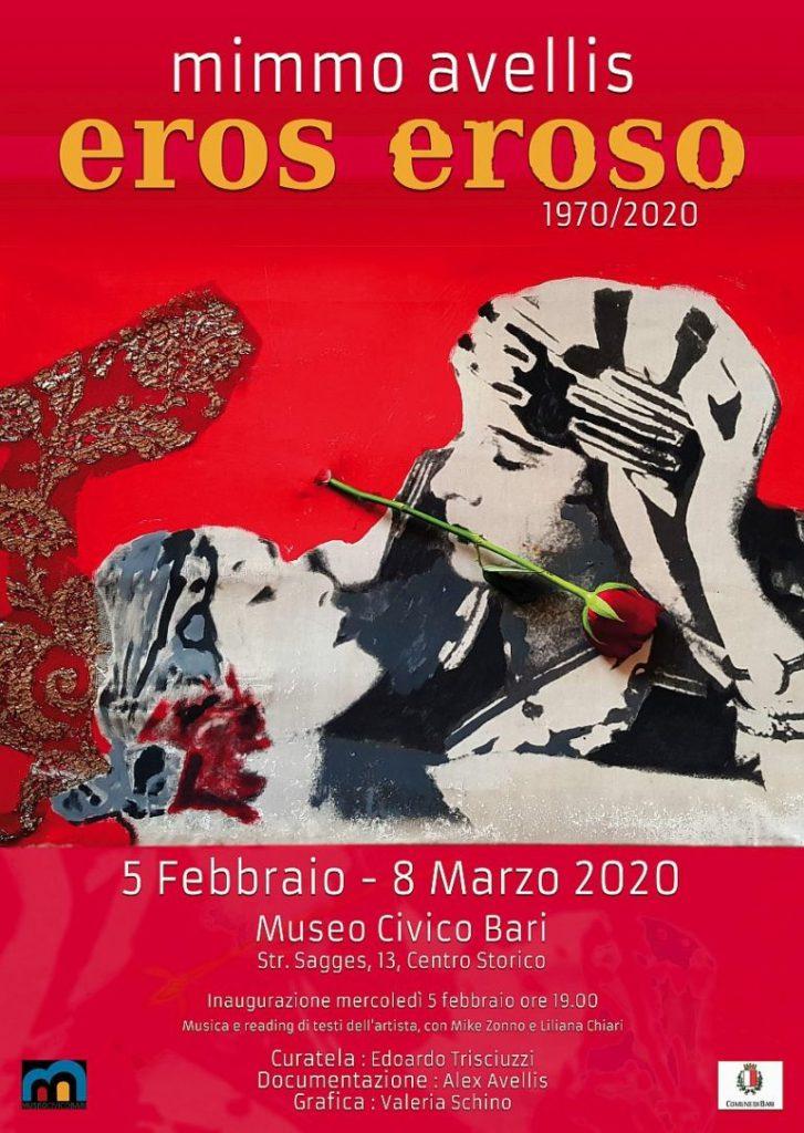 Mimmo Avellis  - Eros Eroso 1970/2020
